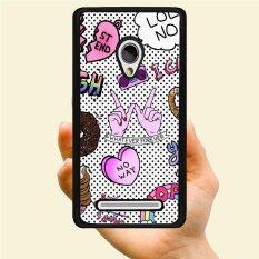 Fashion Muda Penjualan Terlaris Whaterver Selamanya Gerakan Kreatif Plastik Keras Berpola Casing Ponsel untuk Samsung Galaxy A3 (Aneka Warna)