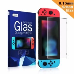 2 Packs Keten  0.25mm/9H Premium Clear Tempered Glass Screen Protector Film for Nintendo Switch