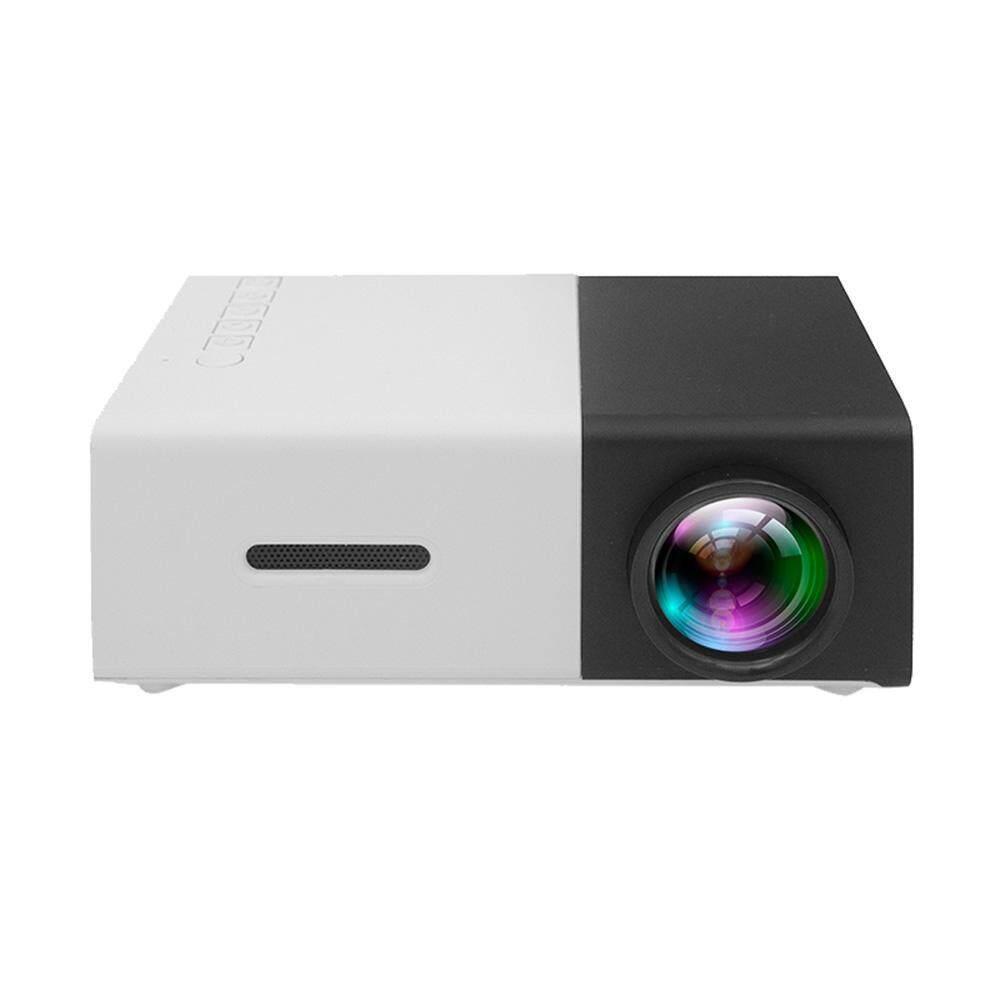 Yueshunbuha YG30 Portabel HD Mini LED Projector dengan Buah Laptop USB/SD/AV/HDMI Masukan untuk Video film Permainan Rumah Entertainment Projector dengan Jarak Jauh Pengendali, hadiah Natal Terbaik-Internasional