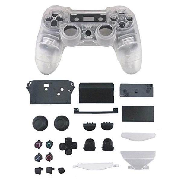 yueton Replacement Full Housing Controller Shell Case Cover Kit for PlayStation 4 - intl