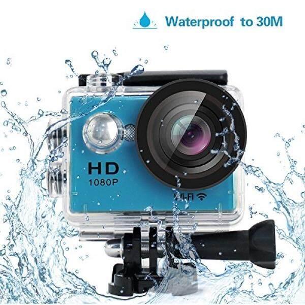 Yuntab Yuntab HD 1080 P 30fps 12 Mega Piksel Olahraga Mini Kamera Aksi DV 2.0
