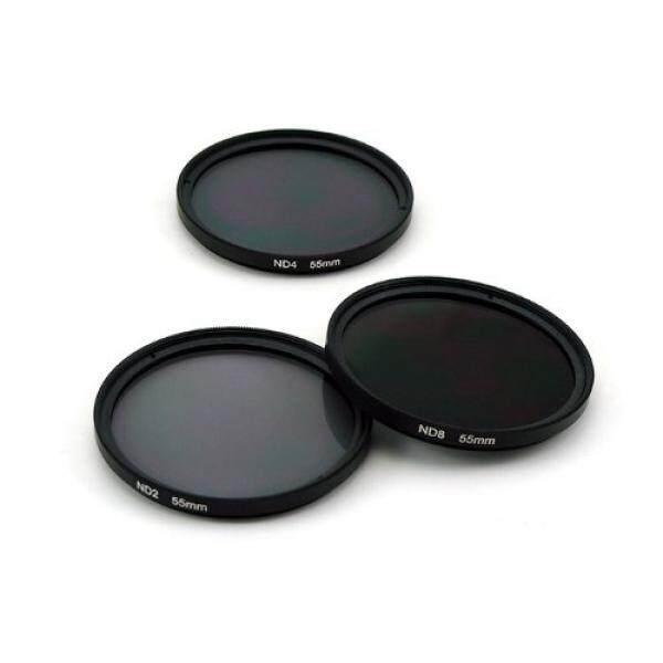 Zeadio?? 72mm Grau Neutral Graufilter Objektive inkl ND2 ND4 ND8 + Objektivdeckel + Microfiber Objektiv-Reinigstuch + Tasche f?r alle 72MM DSLR Kamera Canon EOS 1DX 5D Mark 5D2 5D3 6D 7D 10D 30D 40D 50D 60D 70D 350D 400D 450D 500D 550D 600D 650D 70 - intl