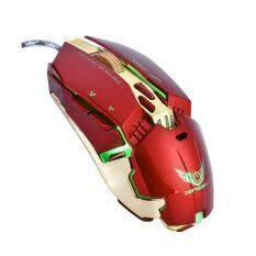 Zerodate X800 3200 Dpi Led Light Wired Usb Programming Gaming Mouse Mice (red) By Highfly.