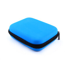 Zip-up USB EVA Carry Case Pouch Bag For 2.5 HDD Hard Drive Disk PC GPS jk(Blue) Malaysia