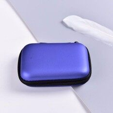 Sky Wing Zipper Protective Headphone Storage bag Pouch Gadgets Case Headset Box Cable Royal Blue Malaysia