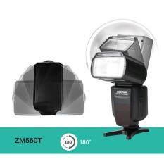 ZM560T untuk Canon TTL 6D 70D 5D3 Speedlite Kecepatan Tinggi Sinkron dengan HD LCD