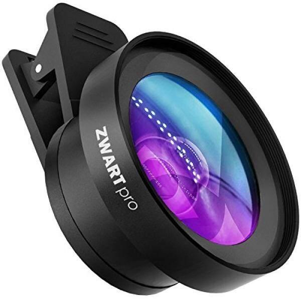Zwartpro Telepon Lensa Kamera-2 In 1 HD Lensa Telepon Selular Kit dengan 0.45X Sudut Lebar dan 15X Lensa Makro untuk iPhone, samsung HTC, Nexus, Pad dan Sebagian Besar Bunga Semprot + Pelindung-Intl