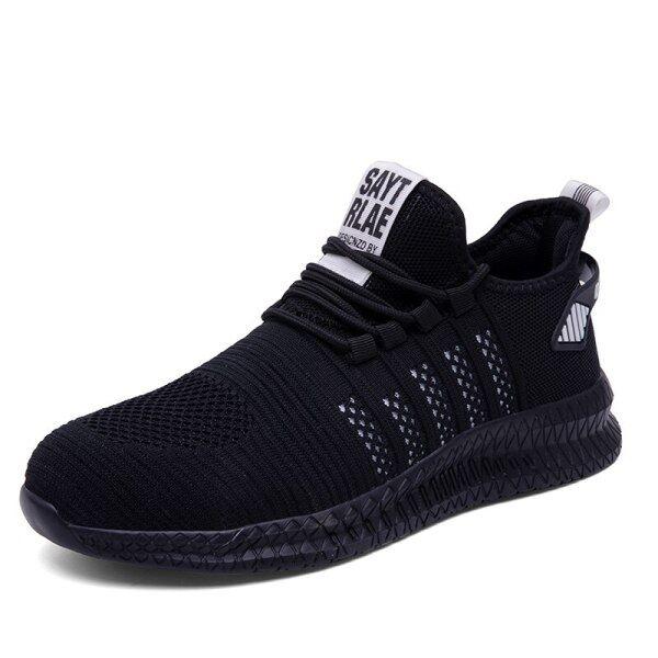 2020 Baru Lelaki Kerja Kasut Keselamatan Mencuri Kasut Keselamatan Kasut Keselamatan Sneaker Saiz Besar Pembinaan Anti-Tusukan Sukan Luar Kasut Cahaya