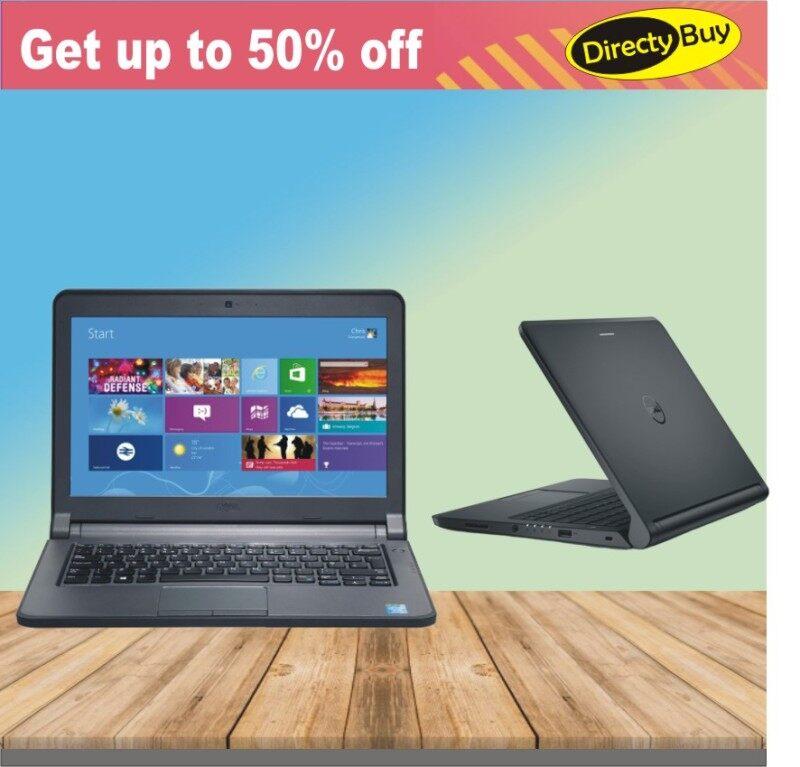 Dell Slim Gaming Laptop - Latitude 3340 - i5 4th Gen - 4GB RAM - 128GB SSD HDD - Web Cam - WiFi - 1 Year  Warranty - 100% Original Malaysia