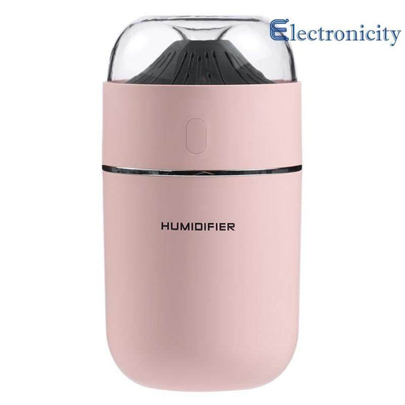 320ml Home LED Ultrasonic USB Air Humidifier Aroma Essential Oil Diffuser Singapore