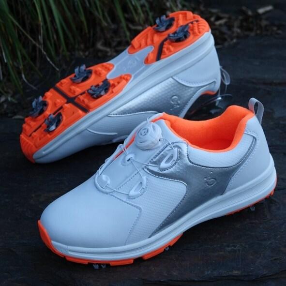 Sản phẩm mới Giày Golf giày nữ giày không thấm nước xoay ren Giày thể thao cao cấp chống trượt nhỏ màu trắng Giày Golf giá rẻ