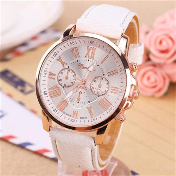 2019 latest fashion pinbo women luxury brand quartz clock watch high quality leather strap ladies wristwatches relogio feminino Malaysia
