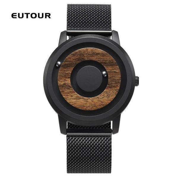 2018 EUTOUR Top Brand Luxury Magnetic Watch Men Waterproof Sports Watches Mens Quartz Wrist Watch Male Clock Magnetic men watch Malaysia