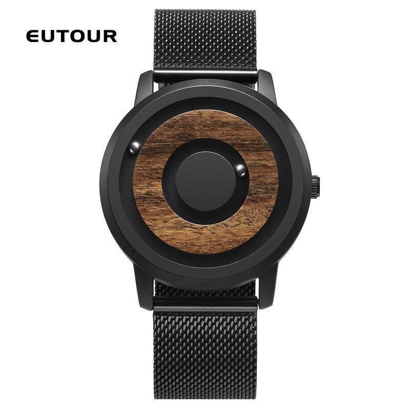 2018 EUTOUR Top Brand Luxury Magnetic Watch Men Waterproof Sports Watches Mens Quartz Wrist Watch Male Clock Magnetic men watch Malaysia