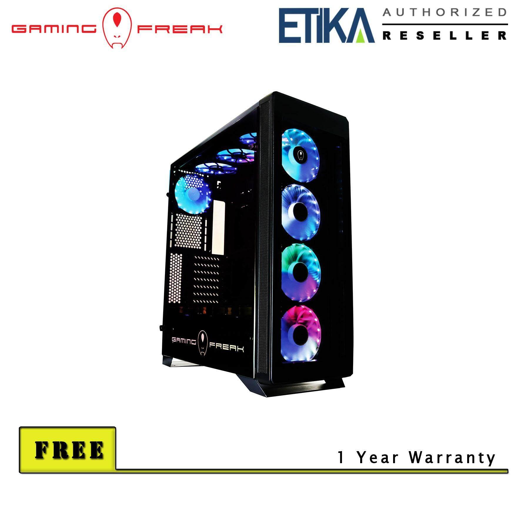 Gaming Freak Aura 980G Premium Middle Tower Case Malaysia