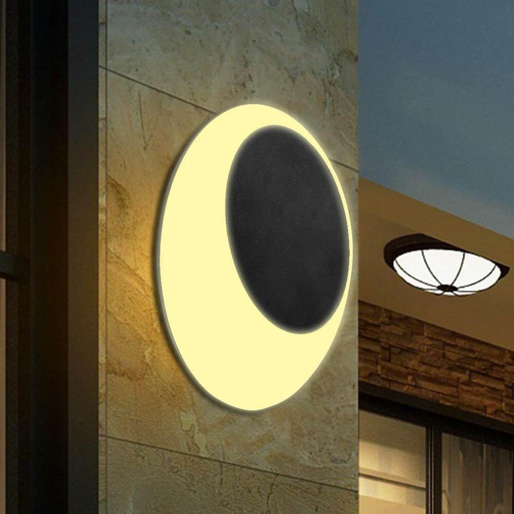 LED Indoor Outdoor Aluminum + PC Wall Light Waterproof Porch Garden Walls Lamp