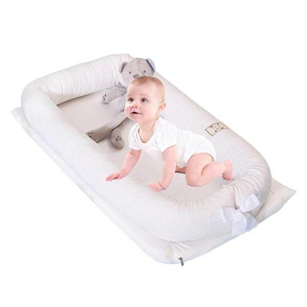 OEM Breathable folding bed bed anti-pressure portable protection removable and washable stereo cotton bionic sleepy crib
