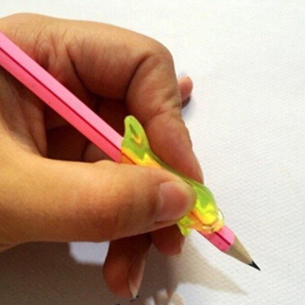 Mua ZGYP Hot 3X Cá Heo Silicone Bé Học Đồ Chơi Viết Tư Thế Công Cụ Giữ Một Bút Chỉnh Sửa Văn Phòng Phẩm Đặt Trẻ Em Học Sinh Giáo Dục