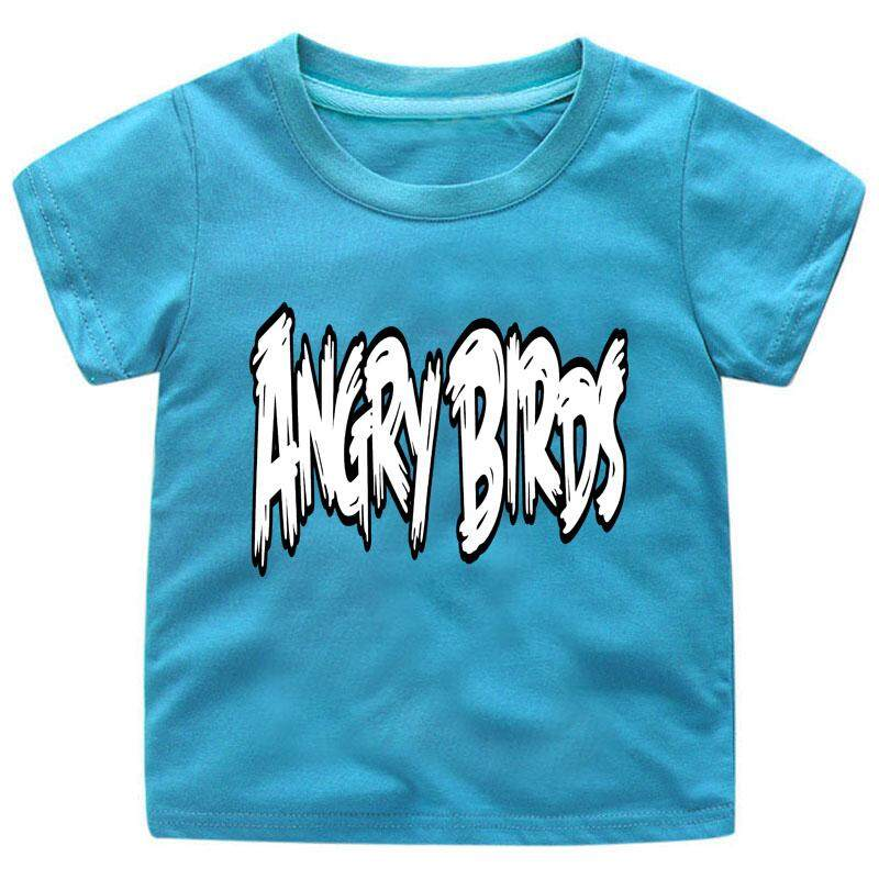 b3cea9306ffae China. Kids Cute Cotton t-shirts Boys Tees Girls Tops Angry Birds tshirts  Style79