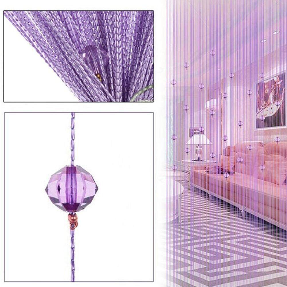 Beads Crystal String Tassel Curtain Panel Fringe Valamces Home Decor By Twinkle2017.