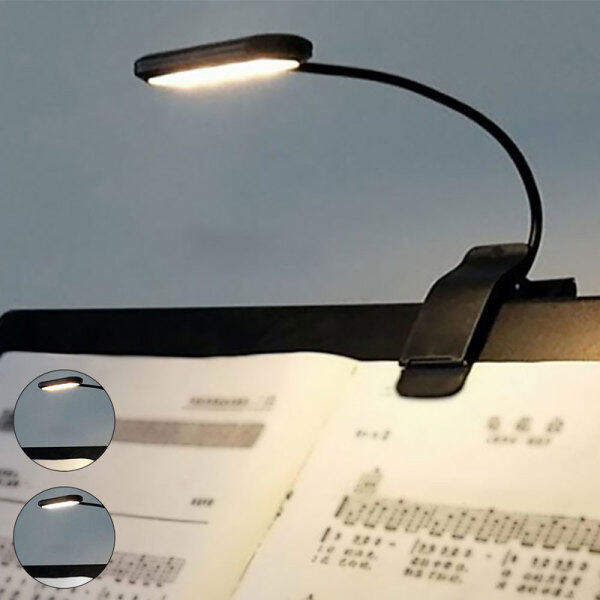 USB Sạc LED Nhạc Cụ Chơi Đàn Piano Chơi Ánh Sáng Ấm Áp Clip Ánh Sáng Chín Tốc Độ Làm Mờ Ánh Sáng Học Tập Phòng Ngủ Phòng Khách Tủ Cạnh Giường Du Lịch Di Động LE
