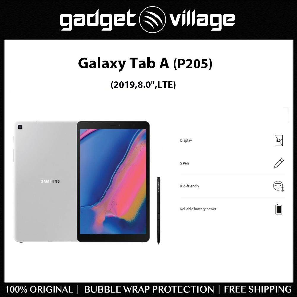 Samsung Galaxy Tab A 8 0 (2019) P205 with S Pen 32gb/3gb - Official Samsung  Malaysia Warranty