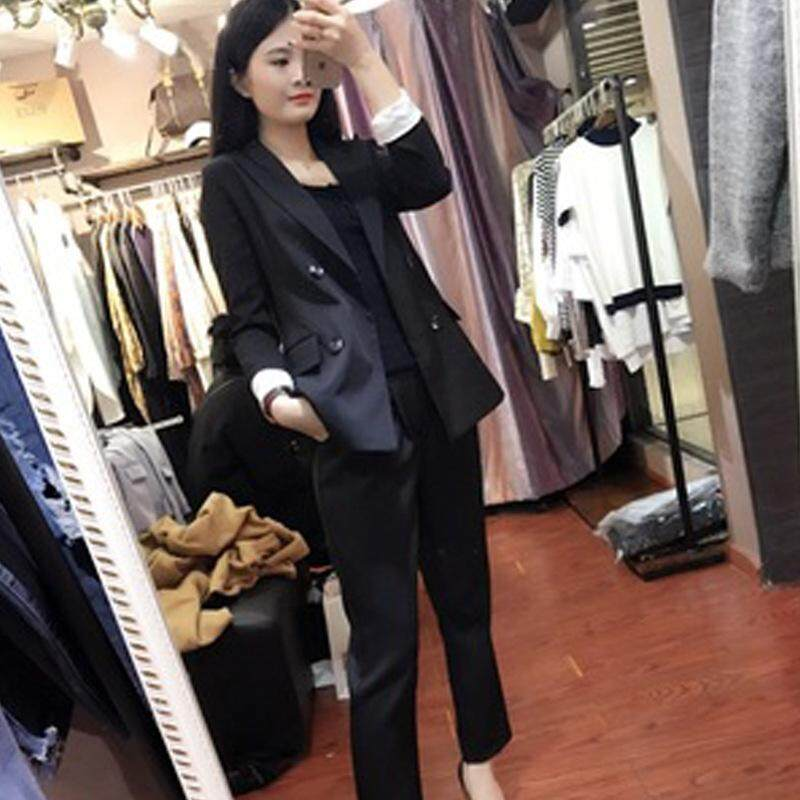 49b7dafa95b1 Product details of Pant Suits Women Casual Office Business Suits Formal  Work Wear Sets Uniform Styles Elegant Pant Suits Spring Fashion Casual  Streetwear ...