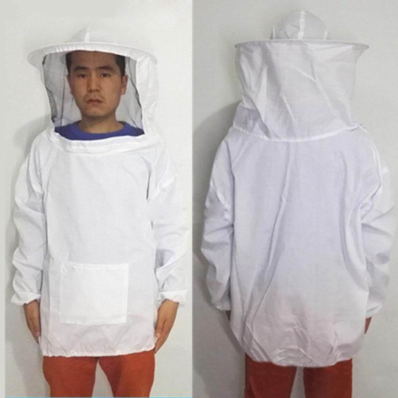 Ishowmall Beekeeping Jacket Veil Smock Protective Equipment Bee Keeping Hat Sleeve Suits