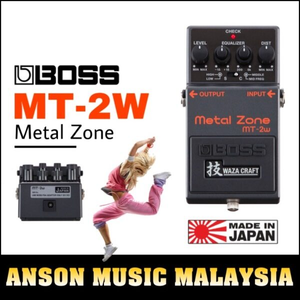 Boss MT-2W Waza Metal Zone Distortion Pedal (MT2W) Malaysia