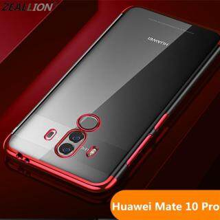 Ốp Zeallion Cho Huawei Mate 10 Pro Ốp Lưng Trong Suốt Siêu Mỏng Mềm TPU Trong Suốt thumbnail