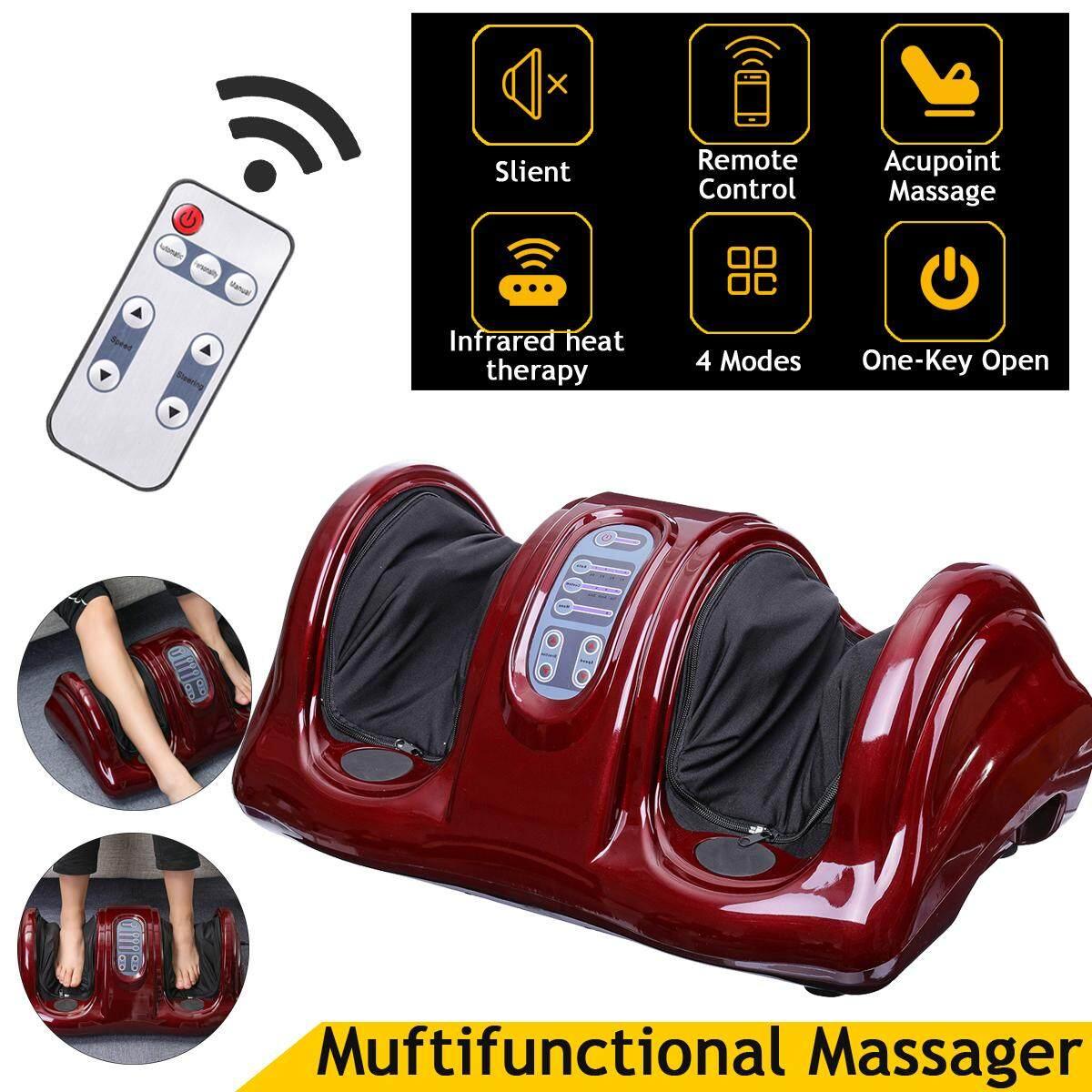 Electric Heating Foot Massager Shiatsu Kneading Machine Calf Leg Pain Relief Color:black By Moonbeam.