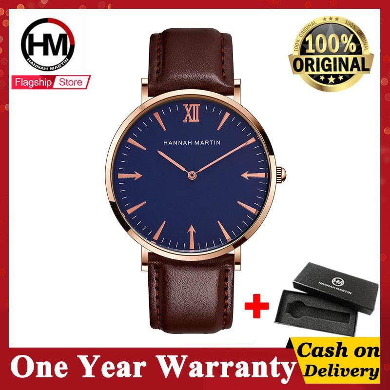 Hannah Martin Fashion Business Watch Men Sport Casual Watches Quartz Waterproof Watch Men Wristwatch(use CASIO movement) Malaysia
