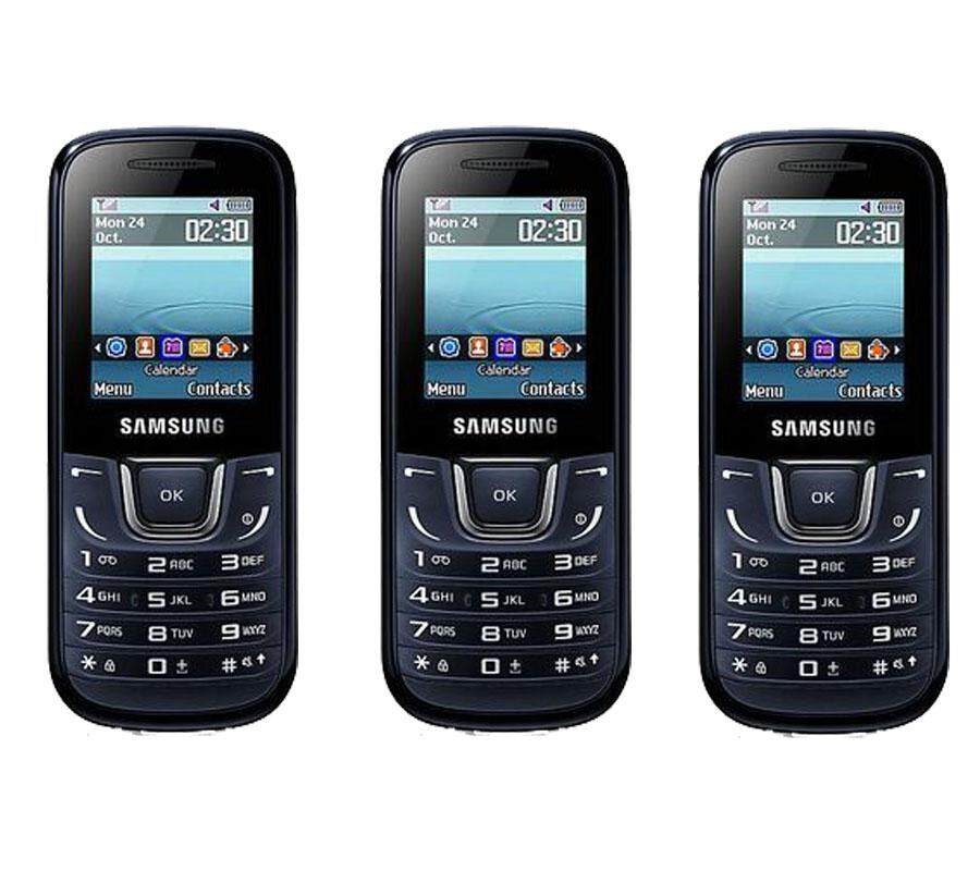 Ssmsung GT-E1228 (3 pcs) Mobile (Fresh Import) Limited Edition 3 phones