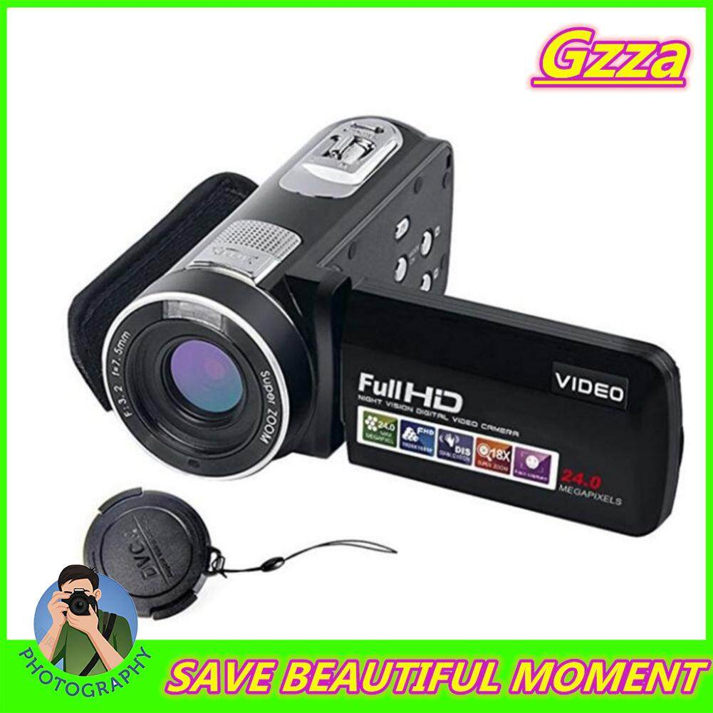 Siêu Tiết Kiệm Khi Mua Gzza【cod】【 Giá Rẻ Shipping】 24MP 1080 HD Máy Ảnh Kỹ Thuật Số Hình Máy Ảnh Chống Máy Quay Video CMOS Micro Camera Nhận Diện Khuôn Mặt Chức Năng Dmiling GJ