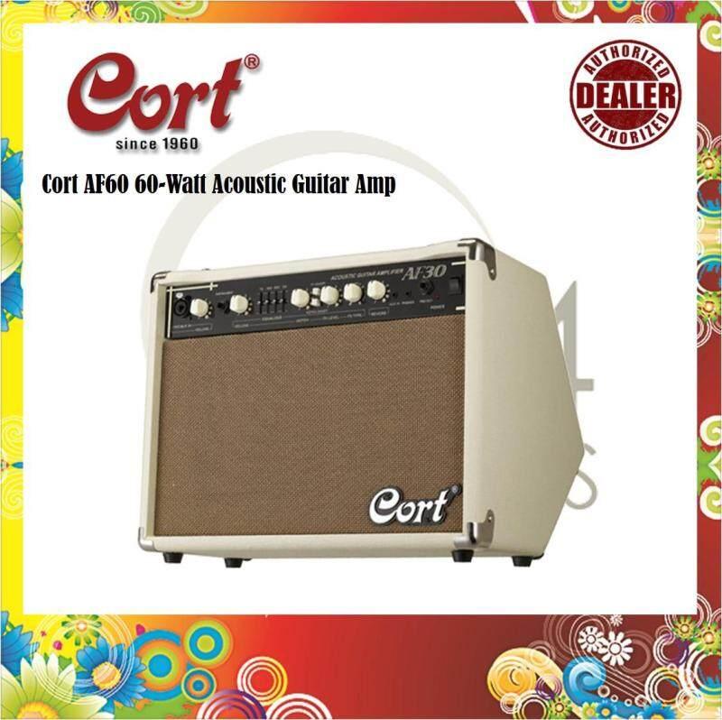 Cort AF60 60-Watt AF-Series Acoustic Guitar Amp / Acoustic Amplifier (AF-60, AF 60) Malaysia