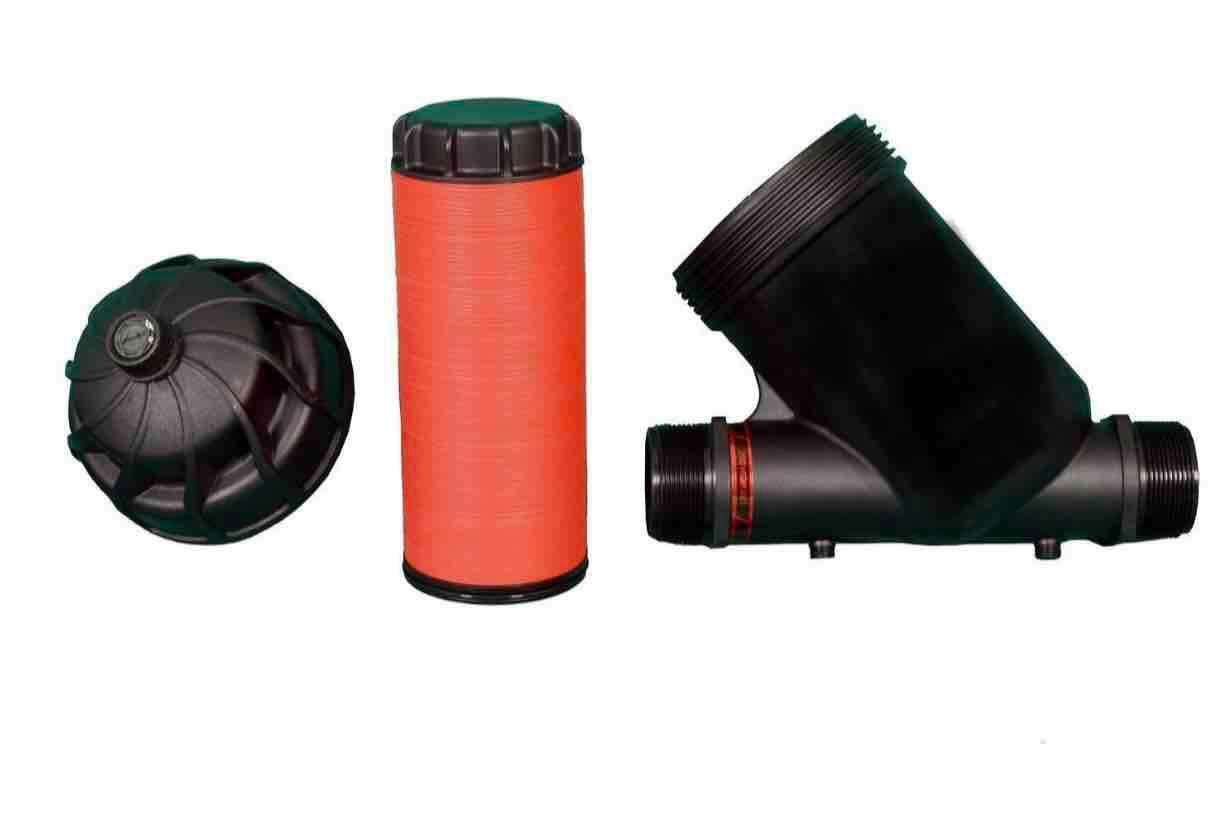 MODULAR 100 MANUAL DISC FILTER 2 INCH BSP (Y TYPE) (120MESH/130MICRON) FARM IRRIGATION AGRICULTURE AQUAPOND SYSTEM