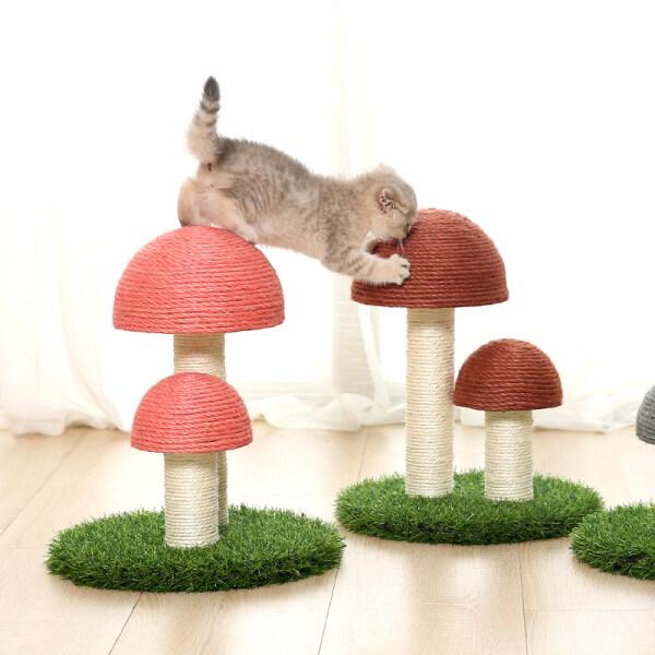 Thiết Bị Nghiền Móng Vuốt Dọc Cho Mèo, Tổ Yến, Đồ ChơI Mèo, Lưới, Màu Đỏ, Dùng Cho Chó Mèo, Salu