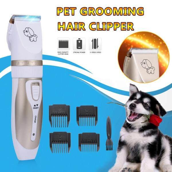 Tông đơ cắt lông cho thú cưng, tông đơ cắt lông thỏ, không dây, tiếng ồn thấp, có thể sạc lại