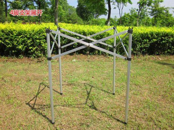 7075 aluminum alloy folding table outdoor thick aluminum table table barbecue leisure table light and easy to carry