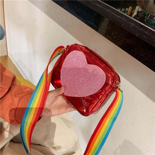 Giá bán ✑☊ Girls bag 2019 new online popular childrens fashion Korean foreign style girls 10-12 children