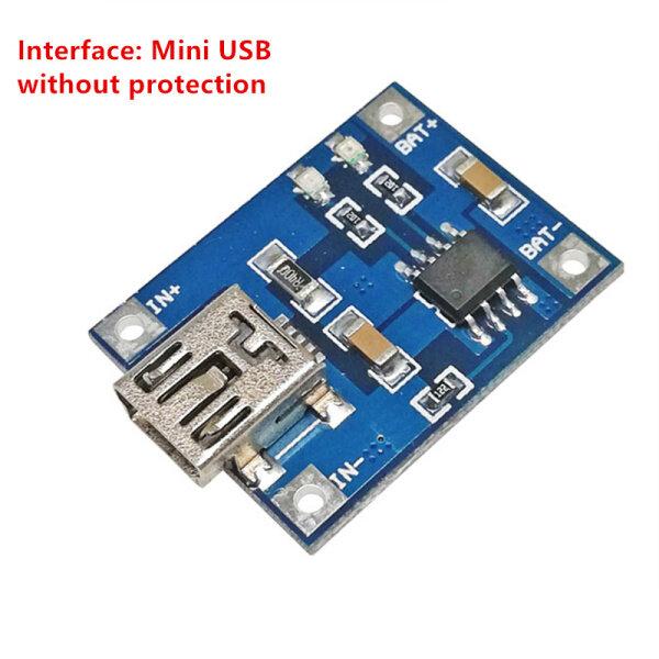 Mini Micro Type-C USB 5V 1A 18650 TP4056 Pin Sạc Mô-đun Sạc Với Chức Năng Bảo Vệ Kép 1A Li-ion
