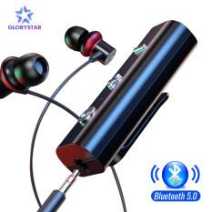 Bộ Thu Không Dây Bluetooth 5.0 GloryStar, Bộ Chuyển Đổi Cho Giắc Cắm Tai Nghe 3.5Mm, Loại Kẹp, Thiết Bị Phát Nhạc Âm Thanh Aux