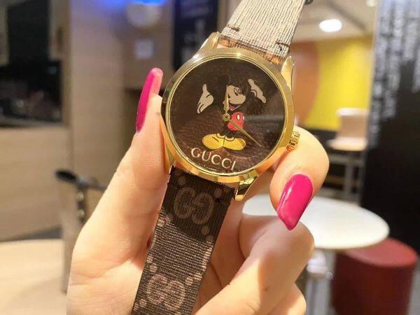 GUCCI Automatic Watch For Women Mickey Metal Strap Strap Unisex Fashion 2020 New Malaysia