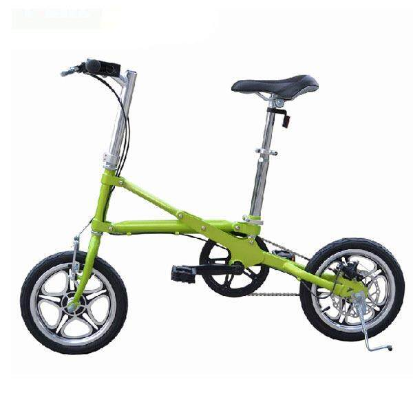 【free Shipping + Flash Deal】folding Bike Mini Bicycle 14 Wheel Ultra-Light Speed Bicycle By Teamwin.