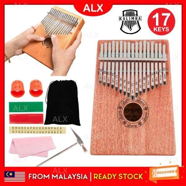 ALX BORONG Malaysia Malaysia Portable Beginner 17 Keys Kalimba Thumb Piano Acoustic Finger Piano Music Instrument Wood Kids Learning Educational FREE Storage Pouch Malaysia