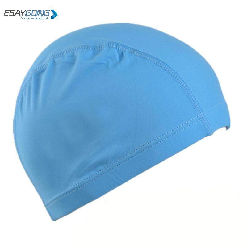 EASYGOING Highly Elastic Unisex Nylon Cloth Fabric Diving Bathing Cap Swimming Hats For Children Kids Men Women