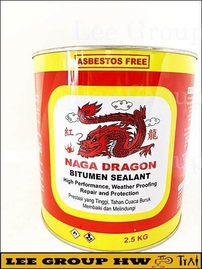 2.5KGS Bitumen Sealant for stopping leaks .NAGA DRAGON Bitumen
