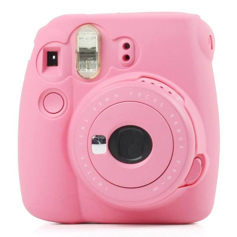 Huỳnh quang Silicone Mềm Mại Bảo Vệ dành cho MÁY chụp ẢNH lấy ngay FUJIFILM Instax Mini 9/Mini 8 +/Mini...