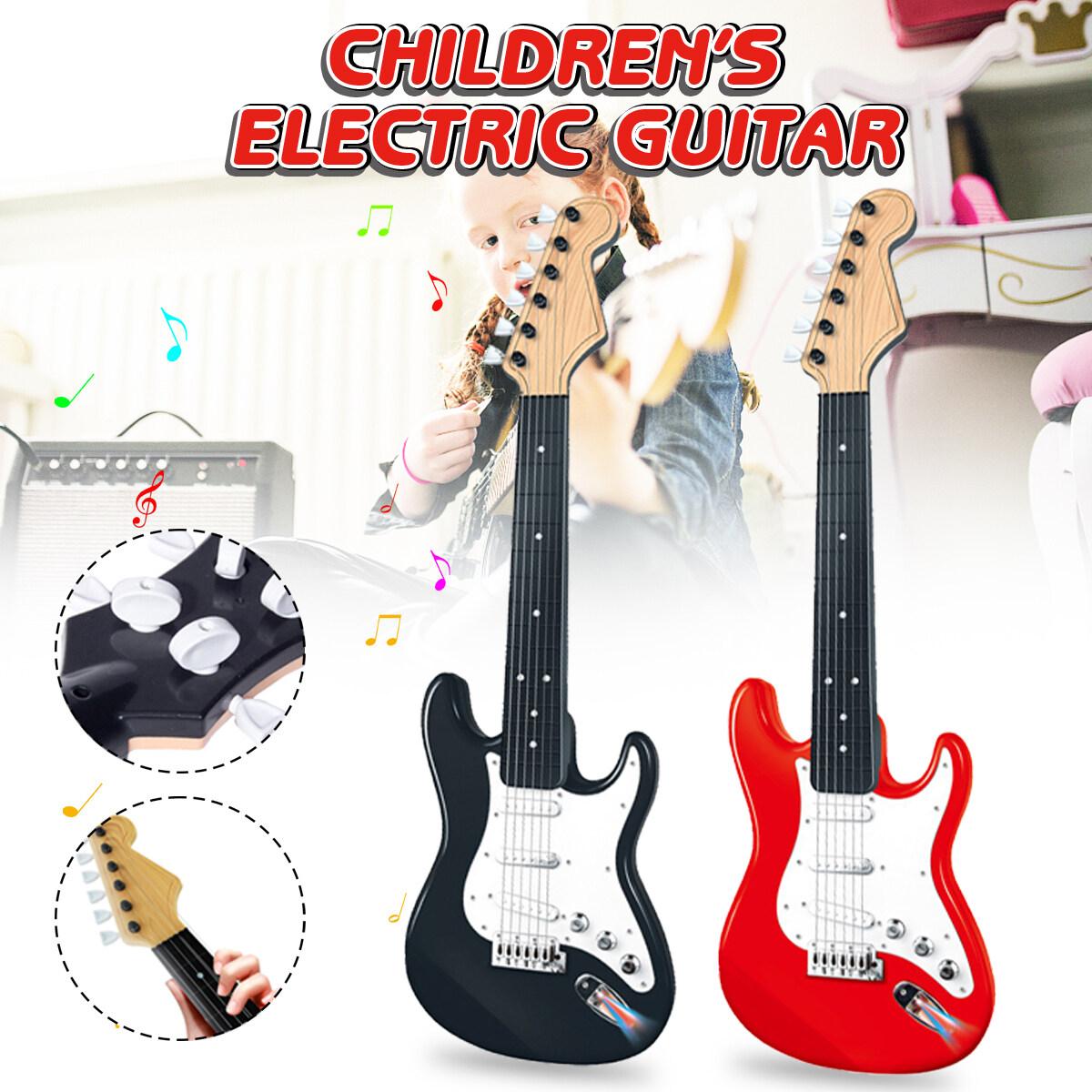 Trẻ Em Âm Nhạc Của 6 Dây Đàn Trẻ Em Mô Phỏng Đàn Guitar Điện Đồ Chơi Quà Giáng Quà Tặng