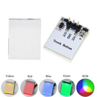 SLWUI Công Tắc Cảm Biến Điện Dung LED Nhiều Màu 2.7V-6V 3V 5V 6V Nút Cảm Ứng thumbnail